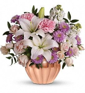 Love's Sweet Medley by Teleflora in Oakland MD, Green Acres Flower Basket