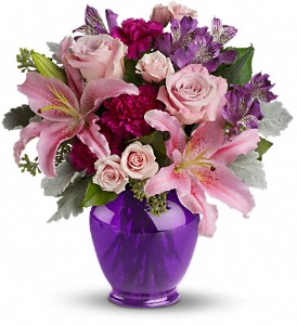 Teleflora's Elegant Beauty in San Jose CA, Rosies & Posies Downtown