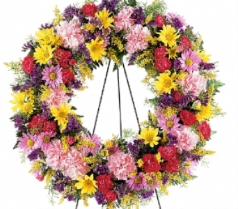 Eternity Wreath in Scarborough ON, Helen Blakey Flowers