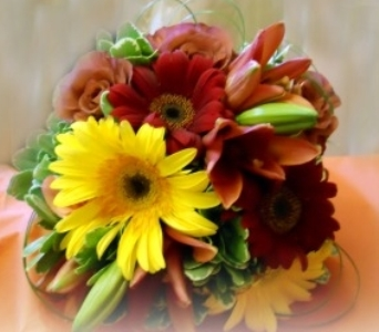 Fall Wedding Boquet in Staten Island NY, Kitty's and Family Florist Inc.