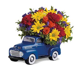Ford Truck Bouquet in Ogden UT, Jimmy's Flowers