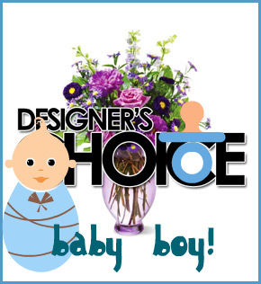 Designer's Choice: Baby Boy in Scranton PA, McCarthy Flower Shop<br>of Scranton