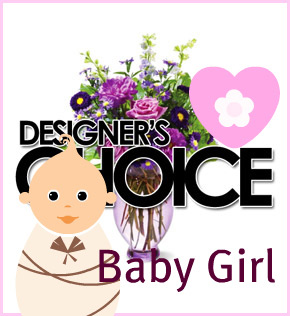 Designer's Choice: Baby Girl in Scranton PA, McCarthy Flower Shop<br>of Scranton