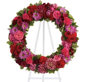 Infinite Love Wreath in McLean VA, MyFlorist