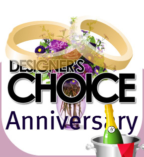 Designer's Choice: Anniversary in Scranton PA, McCarthy Flower Shop<br>of Scranton