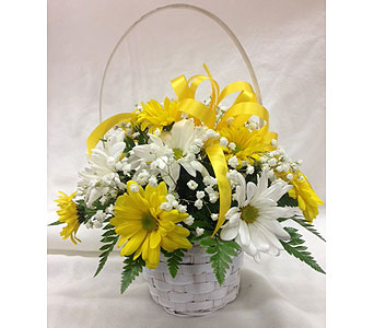 Basket of Sunshine in Titusville FL, Floral Creations By Dawn