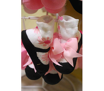 Pinkbow Maryjanes in Sanford FL, Sanford Flower Shop, Inc.