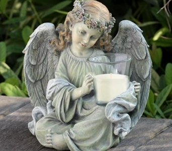 Cherub Candleholder in Kokomo IN, Jefferson House Floral, Inc