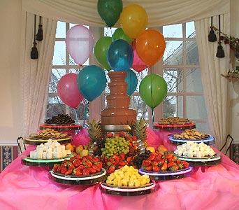 Chocolate Fountain Birthday Parties in Grand Island NE, Roses For You!