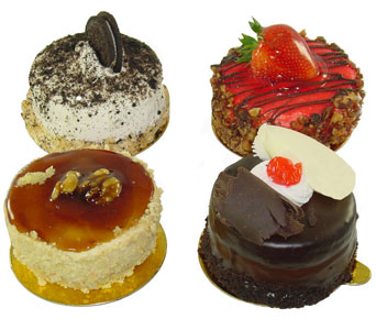 Six Assorted Mini Cakes in Baltimore MD, Raimondi's Flowers & Fruit Baskets