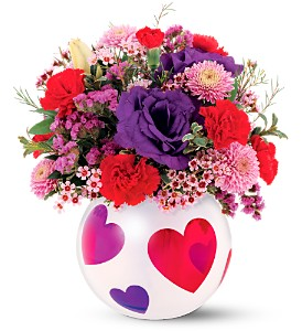 Precious Hearts Bouquet