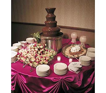 Chocolate Fountains Dessert Buffets in Grand Island NE, Roses For You!