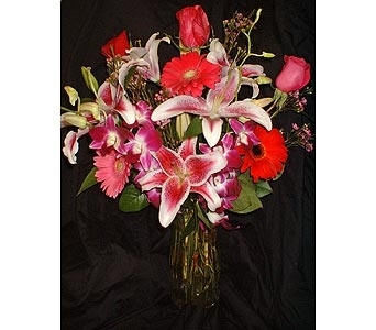 Valentine's Mix in Dallas TX, Z's Florist