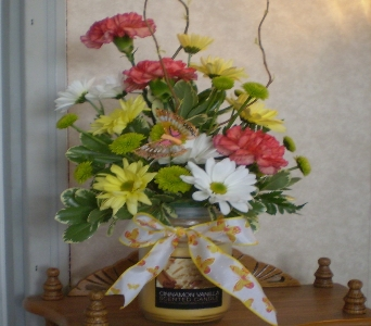 CANDLE BOUQUET in Hanover PA, Country Manor Florist