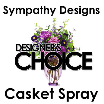Designers Choice Casket Spray in Fredricksburg VA, Heaven Scent Florist