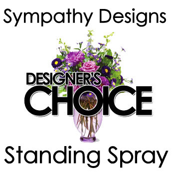 Designers Choice Standing Spray in Fredricksburg VA, Heaven Scent Florist