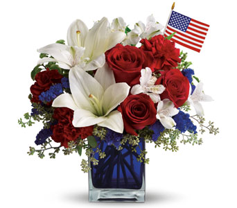 America the Beautiful in Norristown PA, Plaza Flowers