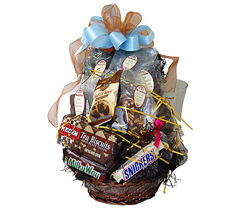 Chocolate Delight Basket in Towson MD, Radebaugh Florist and Greenhouses