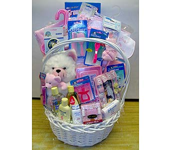 Deluxe Baby Care Basket in Brooklyn NY, Parkway Flower Shop