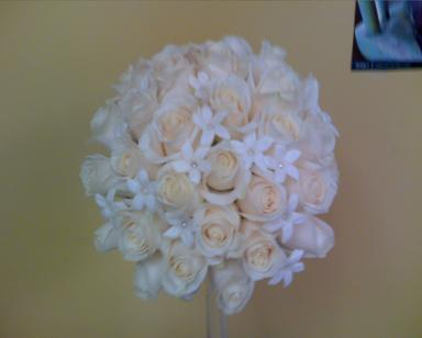 Classic white in Bensenville IL, The Village Flower Shop