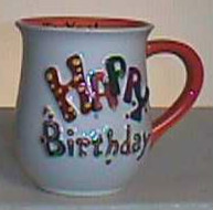 Happy Birthday Mug in Camden AR, Camden Flower Shop