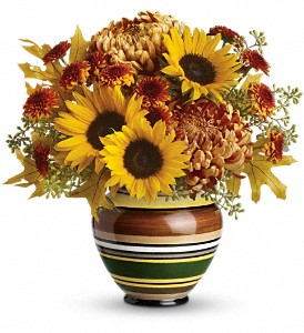 Teleflora's Harvest Stripes Bouquet in Ft. Lauderdale FL, Jim Threlkel Florist