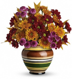 Teleflora's Rings of Autumn Bouquet in Butte MT, Wilhelm Flower Shoppe