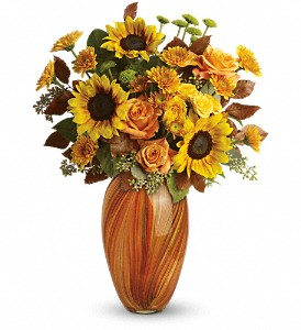 Teleflora's Golden Sunset Bouquet in Metairie LA, Villere's Florist