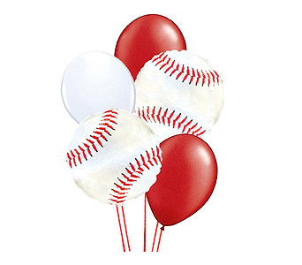 Baseball Balloon Bouquet in Birmingham AL, Norton's Florist