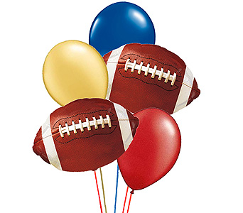 Football''s Balloon Bouquet in Birmingham AL, Norton's Florist