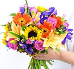European Hand Wrapped Bouquet in Perrysburg & Toledo OH - Ann Arbor MI OH, Ken's Flower Shops
