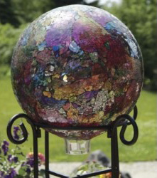 Sequin Gazing Ball in Madisonville KY, Exotic Florist & Gifts