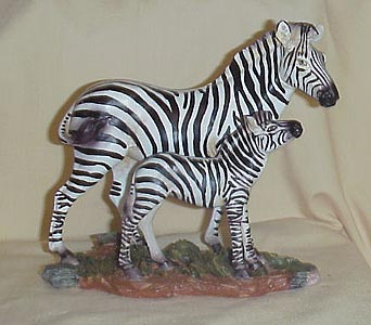 Statue of Zebra in West Helena AR, The Blossom Shop & Book Store