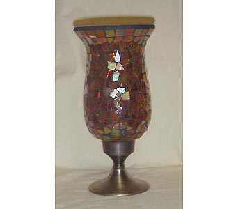 Mosiac Glass Vase in West Helena AR, The Blossom Shop & Book Store