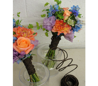 Hot Summer Colors Bouquet in Baltimore MD, The Flower Cart, Inc