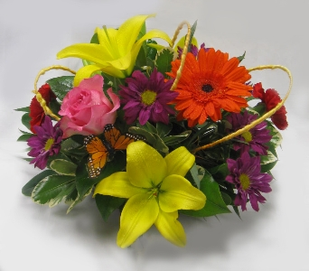 Make Them Smile Bouquet in Kennewick WA, Heritage Home Accents & Floral