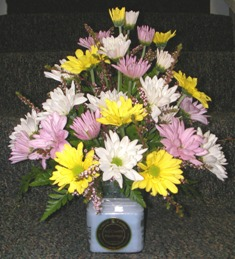 Circle E Daisy Bouquet in Lake Charles LA, A Daisy A Day Flowers & Gifts, Inc.