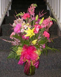 All About Pink Bouquet in Lake Charles LA, A Daisy A Day Flowers & Gifts, Inc.