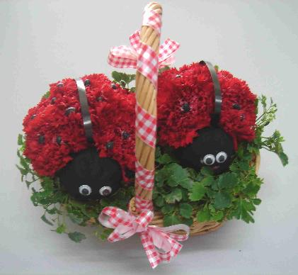 Lady Bug Basket in Guelph ON, Patti's Flower Boutique