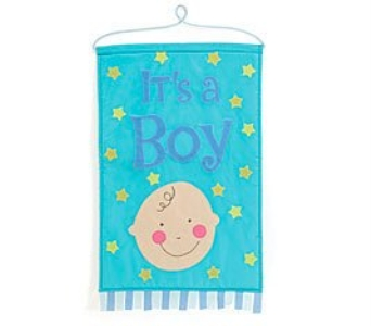 It''s A Boy Banner in Cleves OH, Nature Nook Florist & Wine Shop