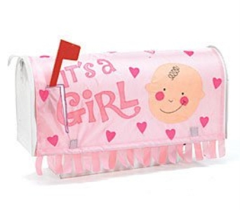 It''s A Girl Mailbox Cover in Cleves OH, Nature Nook Florist & Wine Shop