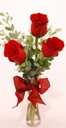 'Get Shorty' Red Three Local and Nationwide Guaranteed Delivery - GoFlorist.com