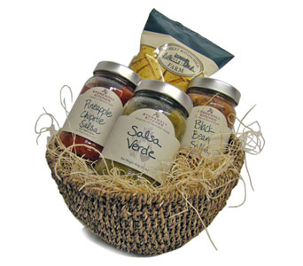 THE �SALSA� BASKET  in Oshkosh WI, House of Flowers