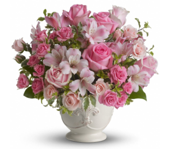 Pink Potpourri Bouquet in Norristown PA, Plaza Flowers