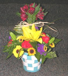 Basket of Joy in Lake Charles LA, A Daisy A Day Flowers & Gifts, Inc.