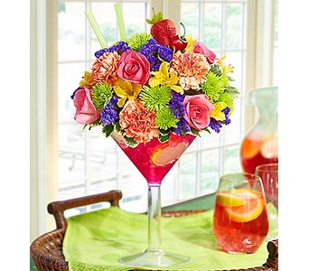 Sangria Bouquet in Concord CA, Jory's Flowers