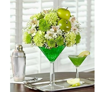 Apple Martini Bouquet in Concord CA, Jory's Flowers