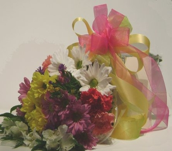 Bright Wrapped Flowers in Herndon VA, Herndon Florist, Inc