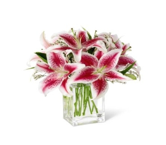 Pink Lily Bouquet in Scarborough ON, Helen Blakey Flowers