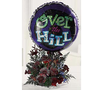 Over the hill bouquet in San Antonio TX, Blooming Creations Florist